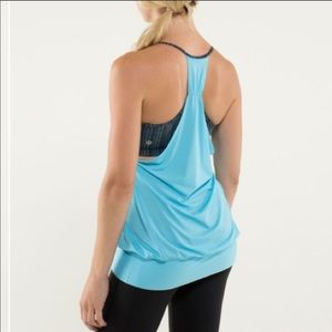 •lululemon• no limits tank in blue moon in ziggy
